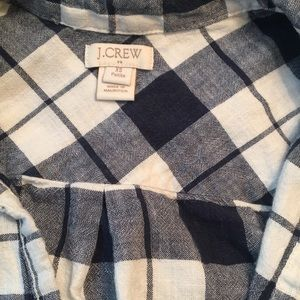 J Crew Checkered Shirt! Has Pocket!